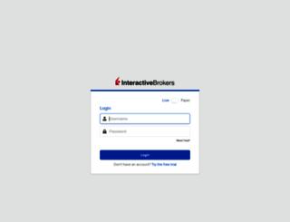 cwt1.interactivebrokers.com screenshot
