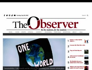 cwuobserver.com screenshot