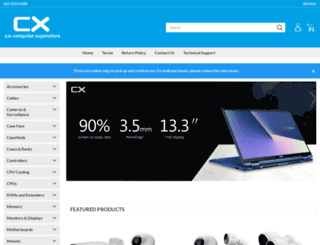 cx.com.au screenshot