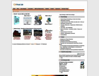 cxhost.de screenshot