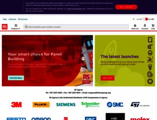 cy.rsdelivers.com screenshot