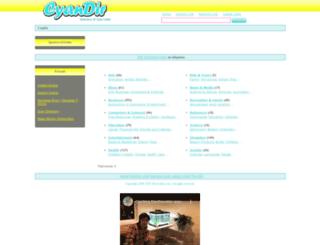 cyandir.com screenshot