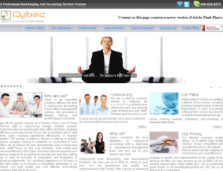cybacglobal.com screenshot
