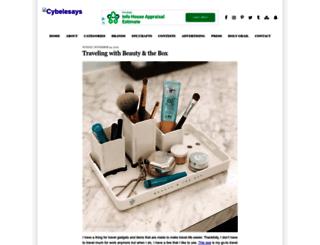 cybelesays.com screenshot