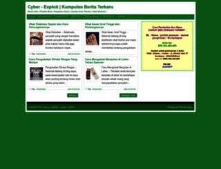 cyber-exploit.blogspot.com screenshot