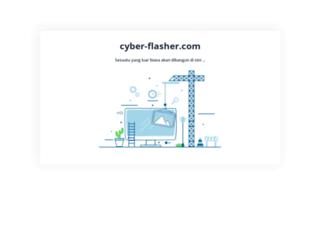 cyber-flasher.com screenshot