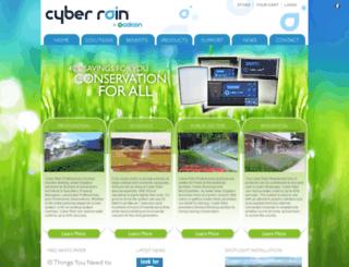 cyber-rain.com screenshot