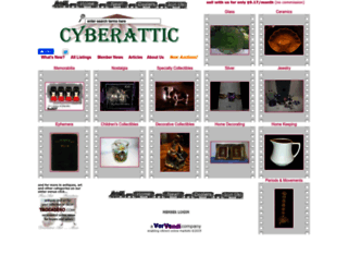 cyberattic.com screenshot