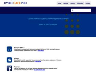 cybercafepro.com screenshot