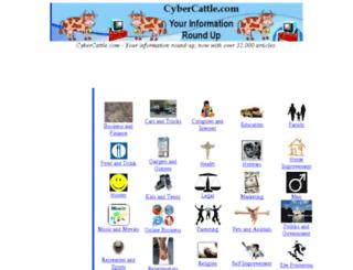 cybercattle.com screenshot