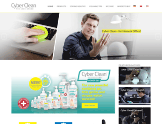 cyberclean.net screenshot
