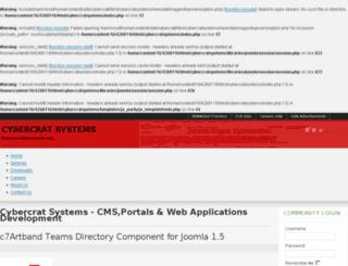 cybercratsystems.com screenshot