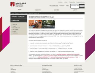 cybercrime.com.au screenshot