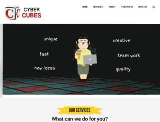 cybercubes.org screenshot