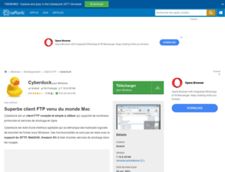 cyberduck.softonic.fr screenshot
