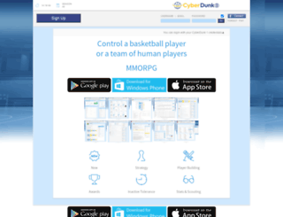 cyberdunk.com screenshot