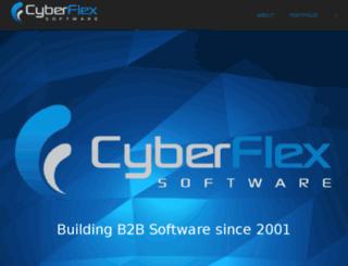 cyberflexsoftware.com screenshot