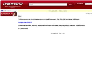 cyberfoto.fi screenshot
