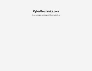 cybergeometrics.com screenshot