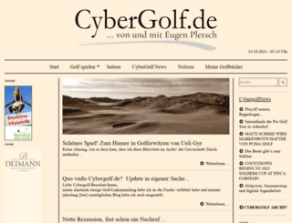 cybergolf.de screenshot