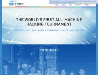 cybergrandchallenge.com screenshot