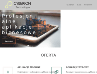 cyberion.net.pl screenshot