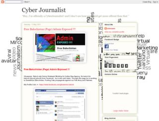 cyberjournalistuk.blogspot.com screenshot