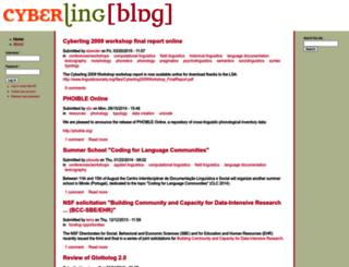 cyberling.org screenshot