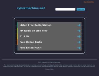cybermachine.net screenshot