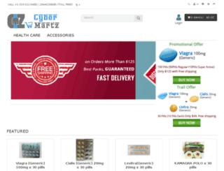 cybermartz.com screenshot
