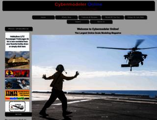 cybermodeler.com screenshot