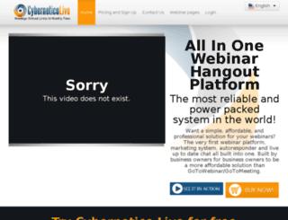 cyberneticolive.com screenshot