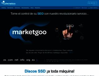 cyberneticos.com screenshot