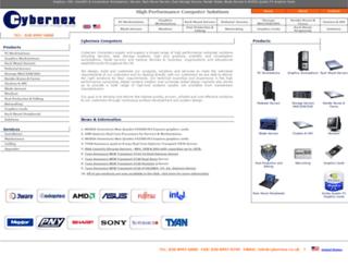 cybernex.co.uk screenshot