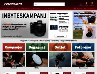 cyberphoto.se screenshot