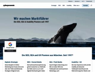 cyberpromote.com screenshot