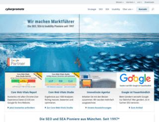 cyberpromote.de screenshot