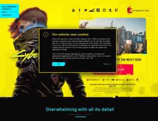 cyberpunk.net screenshot