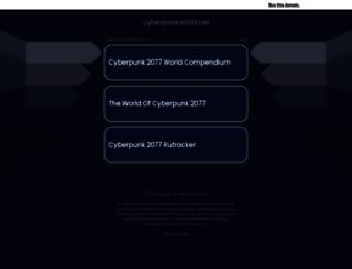 cyberpunkworld.net screenshot