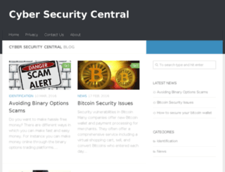 cybersecuritycentral.com screenshot