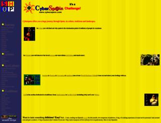 cyberspain.com screenshot