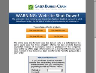 cybersportshop.net screenshot