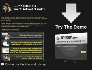 cyberstocker.net screenshot