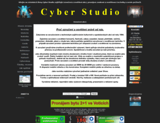 cyberstudio.cz screenshot