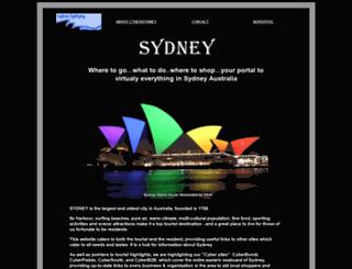 cybersydney.com.au screenshot