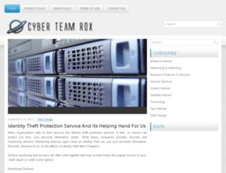 cyberteamrox.org screenshot