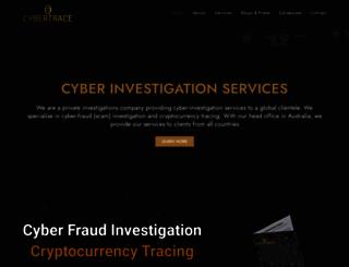 cybertrace.com screenshot