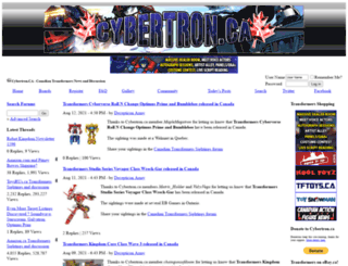 cybertron.ca screenshot