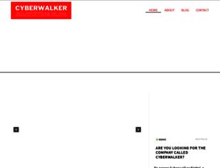 cyberwalker.com screenshot