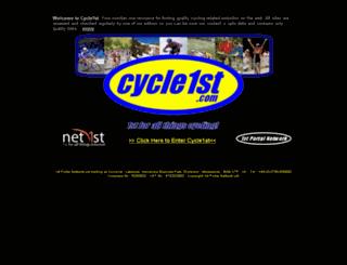 cycle1st.com screenshot